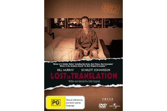 Lost in Translation DVD Region 4
