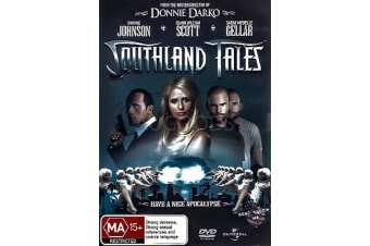 SOUTHLAND TALES - Rare- Aus Stock DVD PREOWNED: DISC LIKE NEW