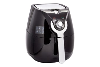 Kitchen Couture Oil Free 3.4L Air Fryer Kitchen Oven Cooker Healthy Meals Black