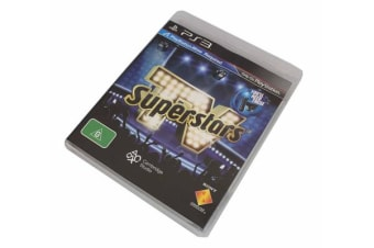 Tv Superstars (Playstation Move) - Sony Playstation 3 Game Ps3 New