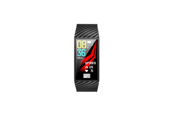 Heart Rate Monitor Smart Watch Blue-Tooth Ecg Sport Pedometer Dt58 Black