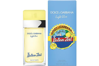 Light Blue Italian Zest for Women EDT 100ml