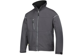 Snickers Mens Profiling Soft Shell Workwear Jacket (Steel Grey) (S)