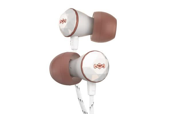 MARLEY Nesta In-Ear Headphones - Rose Gold Smooth & powerful sound in a sweet aesthetic look