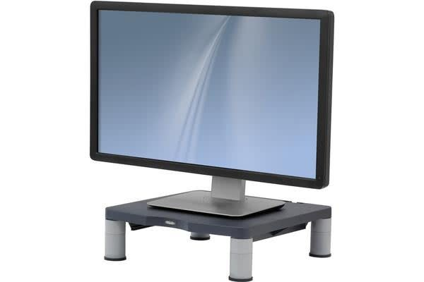 Fellowes 9169306 Monitor Riser Standard - Graphite - Up to 27kg