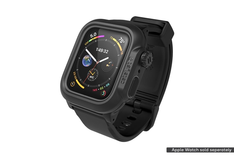 official photos 2d54a 74ad5 Catalyst Waterproof Case For Apple Watch Series 4, 44Mm - Stealth Black