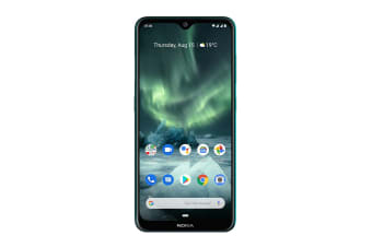 Nokia 7.2 with Android One (128GB, Cyan)