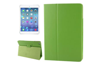 For iPad Air Case Modern Lychee Leather Smart Durable Shielding Cover Green