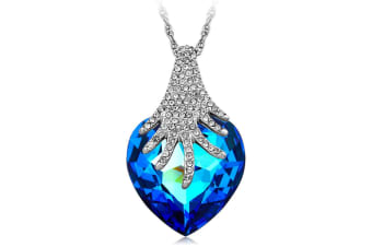 Blue Nile Empress Necklace Embellished with Swarovski crystals