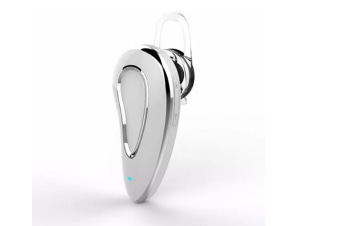 Select Mall Mini Stereo Wireless Hands Free HeadSet-bluetooth Voice Control Music Earphone With Mic-White