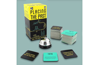 Placing The Past | The Fast-Paced Historical Dates Card Game | Age 14+