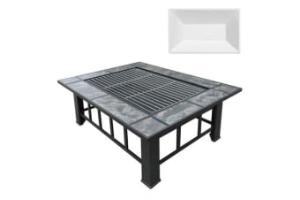 Outdoor BBQ Fire Pit with Alternate Ice Tray