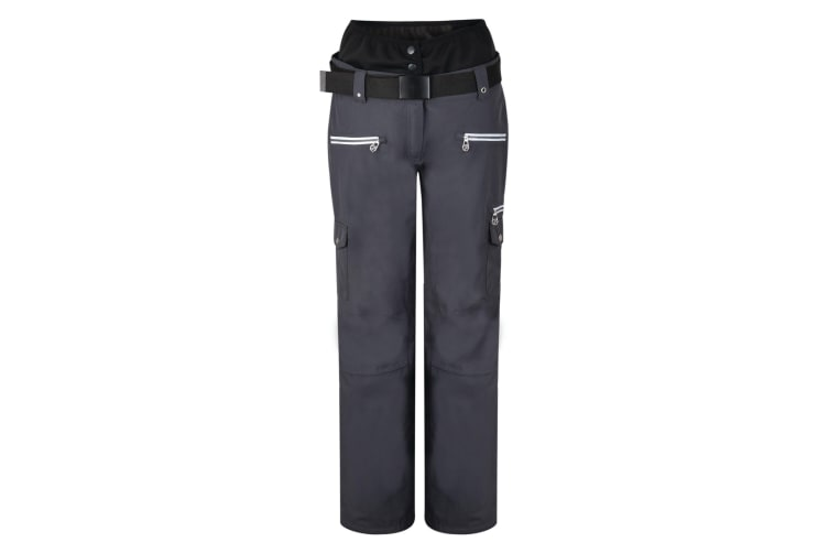 Dare 2B Womens Liberty Ski Trousers (Ebony Grey) (16 UK)