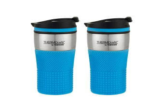 2PK Thermos Cafe 200ml Stainless Steel Vacuum Insulated Coffee Travel Tumbler BL