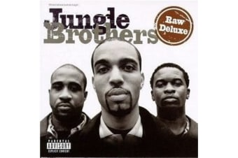 Jungle Brothers  - Raw Deluxe BRAND NEW SEALED MUSIC ALBUM CD - AU STOCK
