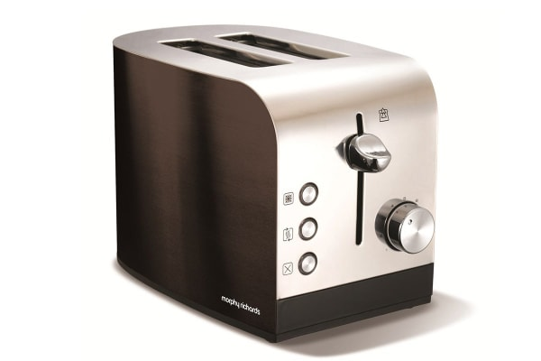 Morphy Richards Accents 2 Slice Toaster (Black)