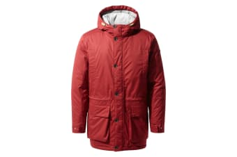 Craghoppers Mens Turriff Jacket (Firth Red/Platinum/Black) (S)
