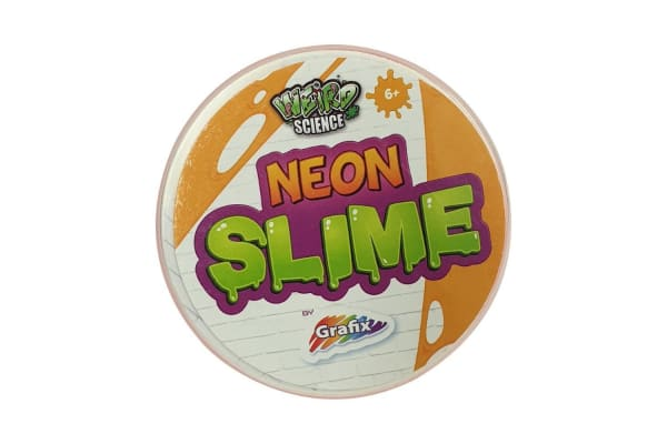 Weird Science Neon and Glow Slime Orange