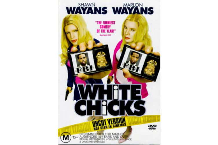 White Chicks -Comedy Region 4 Rare- Aus Stock DVD PREOWNED: DISC LIKE NEW