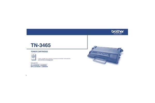 Brother TN3465 Super High Yield Toner - Black