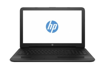 "HP 250 G6 15.6"" Core i3-7020U 4GB RAM 500GB Webcam DVDRW Win10 Home Notebook (4WT97PA)"