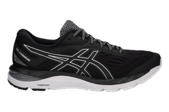 ASICS Men's Gel-Cumulus 20 Running Shoe (Black/White, Size 10)