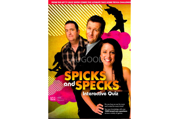 Spicks and Specks Interactive Quiz - Series Region 4 Rare- Aus Stock Preowned DVD: DISC LIKE NEW