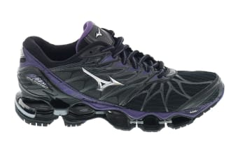 Mizuno Women's WAVE PROPHECY 7 Running Shoe (Black, Size 10 US)