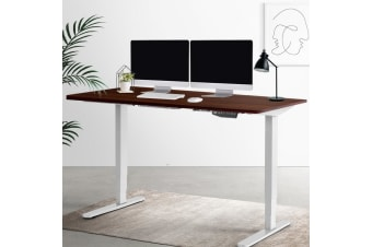 Artiss Electric Motorise Height Adjustable Standing Desk Sit Stand Table 2 Motor