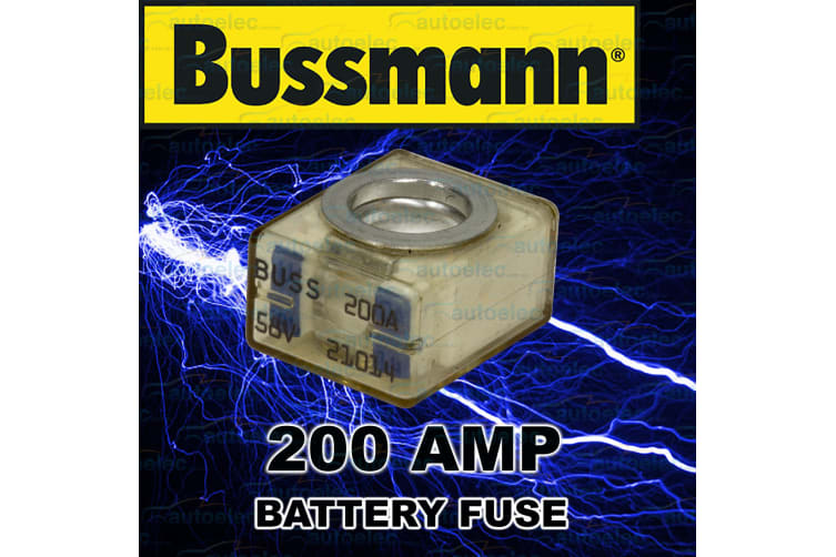 REPLACEMENT 200A 200 AMP FUSE 12 12V VOLT DUAL SYSTEM BOX MRBF200 BLOCK FUSE ONLY