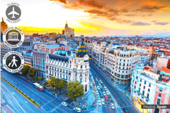EUROPE: 18 Day European Escape Tour Including Flights for One, Two or Three