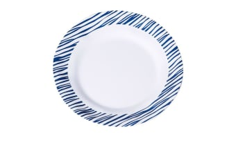 Kitchen Warehouse Melamine Dinner Plate 27cm Driftwood Stripe