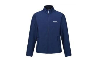 Regatta Mens Carby Softshell Jacket (Prussian Blue) (L)
