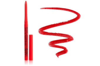 Nyx Waterproof Retractable Lip Liner Ruby Red Pencil Lipliner #Mpl09