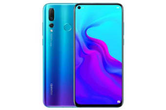 New Huawei Nova 4 Dual SIM 128GB 4G LTE Smartphone Blue (FREE DELIVERY + 1 YEAR AU WARRANTY)