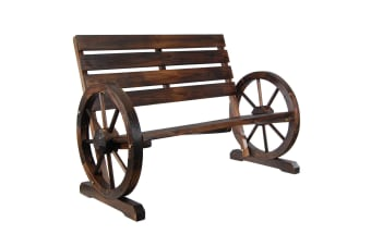 Garden Decoration Wooden Bench Chair