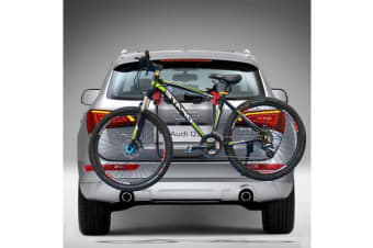 Bullet Car Bike Rack Carrier 3 Rear Mount Bicycle Steel Foldable Strap-on