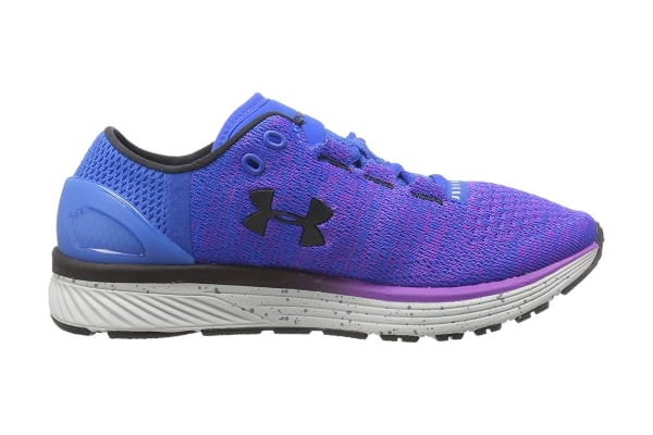 cheap for discount dd0a0 5e9e7 Under Armour Women's Charged Bandit 3 Running Shoe (Ultra Blue/Purple Rave,  Size 6)
