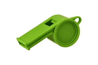 Bullet Hoot Traditional Referee Whistle (Green) (One Size)