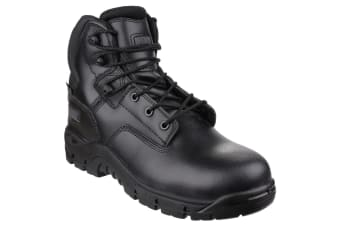 Magnum Mens Precision Leather Safety Boots (Black)