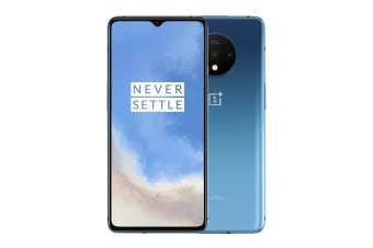 OnePlus 7T (8GB RAM, 128GB, Glacier Blue) - Flashed with Global ROM