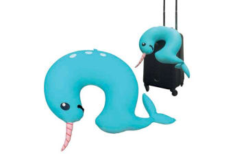 Gamago Travel Cushion - Narwhal