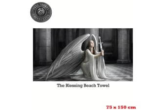 Anne Stokes The Blessing Beach Towel