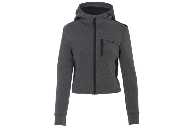 Trespass Womens/ladies Fernanda DLX Track Jacket (Grey Marl) (XS)
