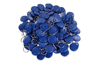 Grandstream RFID coded access key-chain FOB 100 Pack for GDS3710 HD Door System