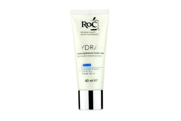 ROC Hydra+ 24h Comfort Hydrating Cream SPF 15 (All Skin Types) (40ml/1.3oz)