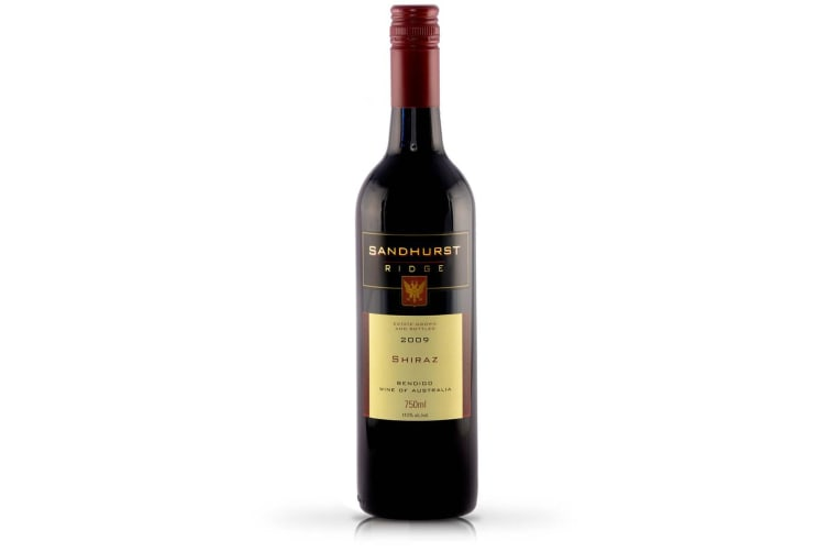Sandhurst Ridge - Bendigo Shiraz - 2009