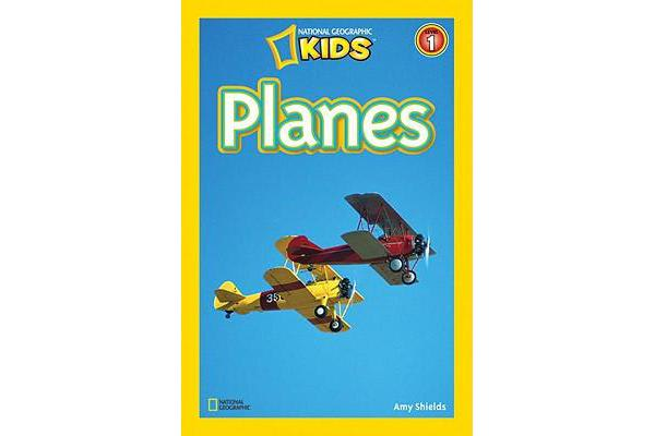 National Geographic Kids Readers - Planes