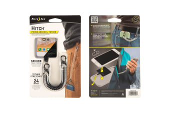 Nite Ize Hitch Phone Anchor+Tether-Blk Tether/Blk MicroLock