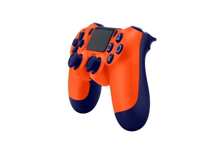 Ps4 Wireless Controller With Dual Vibration Bluetooth Gamepad Orange